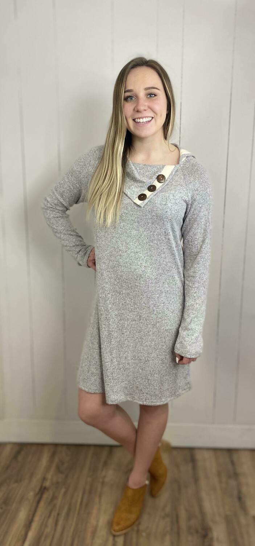 Julia Button Dress