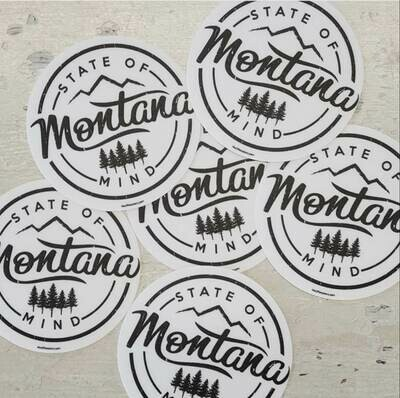Montana State Of Mind Decal