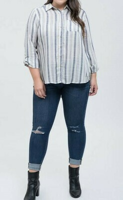 Vertical Stripe Top