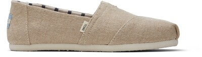 Cream Canvas Toms