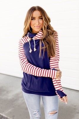 Fireworks Double Hooded Sweater