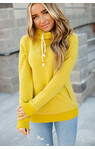 Chartreuse Double Hooded Hoodie