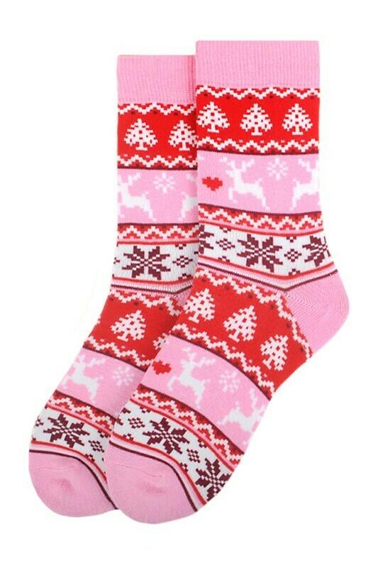 Winter Pattern Socks