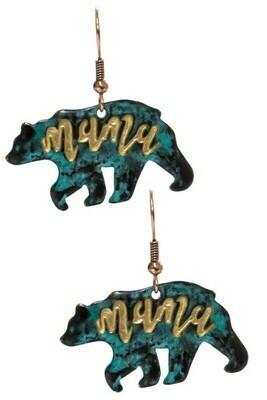 Mama Bear Earrings