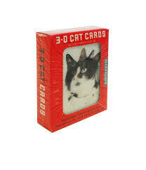 3-D CAT CARDS