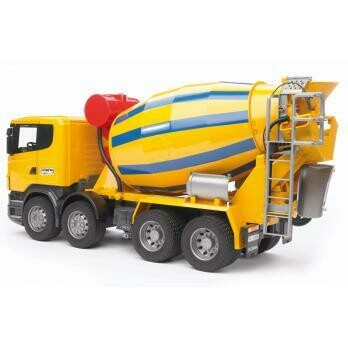 03554 BRUDER SCANIA CEMENT MIXER