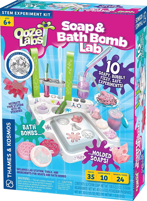 SOAP & BATH BOMB LAB