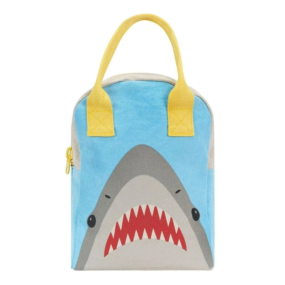 FLUF ZIPPER LUNCHBOX: SHARK