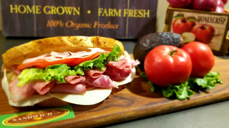 Applewood Smoked Ham & Italian Salami