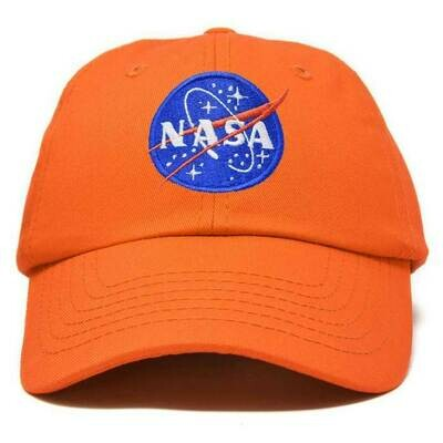 NASA HAT ORANGE