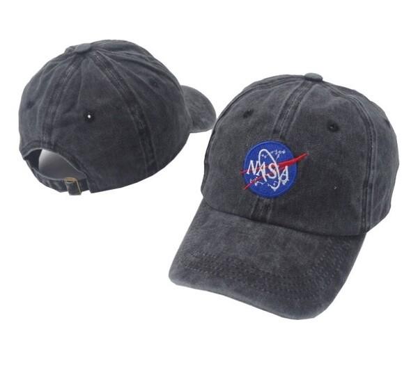 NASA HAT BLACK