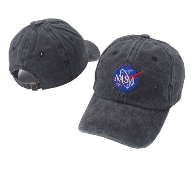 NASA HAT BLACK