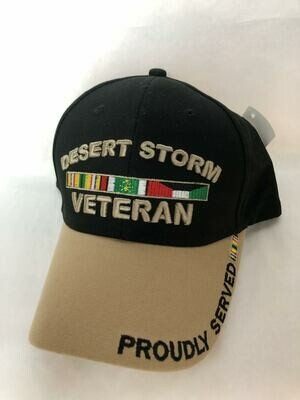 BROWN/BLACK DESERT STORM HAT-G1382