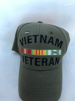 GREEN VIETNAM VET HAT-G-1037
