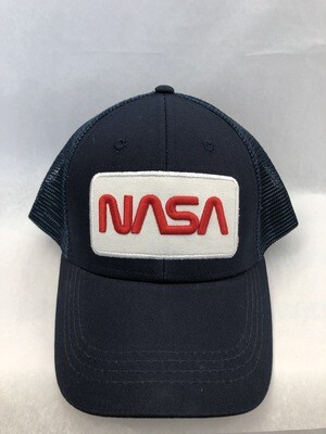 NASA WORM TRUCKER HAT