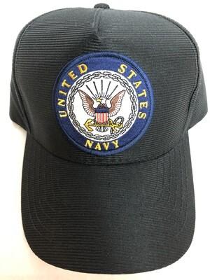NAVY ROUND LOGO PATCH HAT-9250