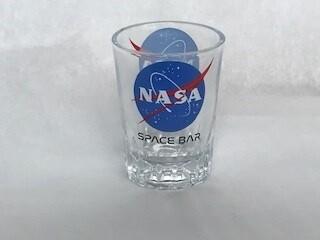 NASA SPACE BAR SHOT GLASS