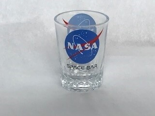NASA SPACE BAR SHOT GLASS