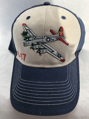B-17 EMBROIDERED HAT