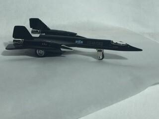 SR-71 BLACKBIRD PULLBACK