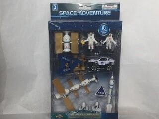10 PIECE SPACE EXPLORER BOX SET