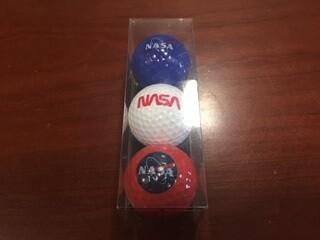 NASA GOLF BALLS