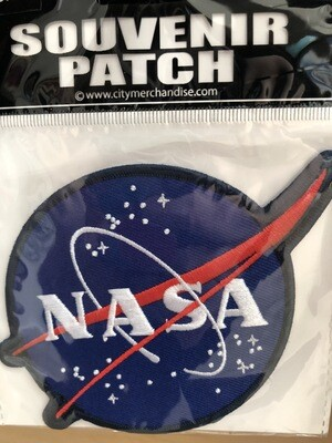 NASA OFFICIAL ROUND PATCH
