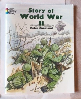 WWII COLORING BOOK