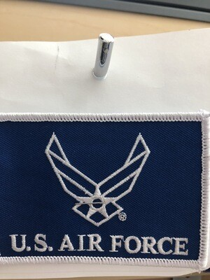 US AIR FORCE  WING SQUARE PATCH