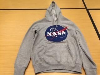 NASA GREY HOODIE