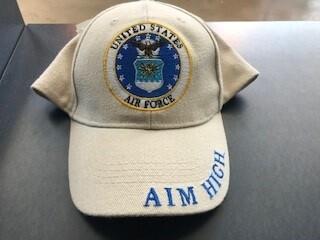 USAF ROUND EMBLEM-CP00414 (KHAKI)