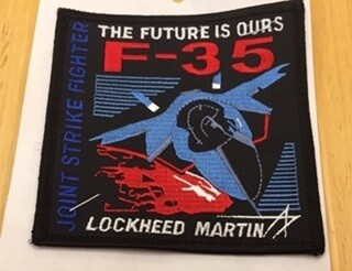 F-35  THE FUTURE IS OURS PATCH
