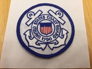 COAST GUARD ROUND PATCH