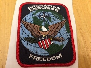 OPERATION ENDURING FREEDOM PATCH