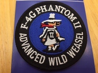 F-4G PHANTOM PATCH PM5077