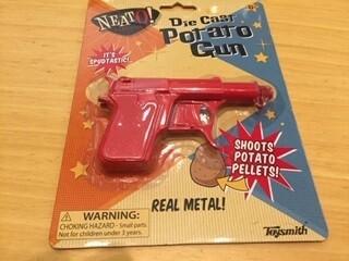 DIE CAST POTATO GUN