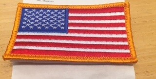 AMERICAN FLAG GOLD 3X5 PATCH