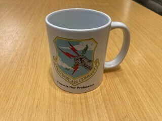 PEACE IS OUR PROFESSION/SAC EMBLEM MUG