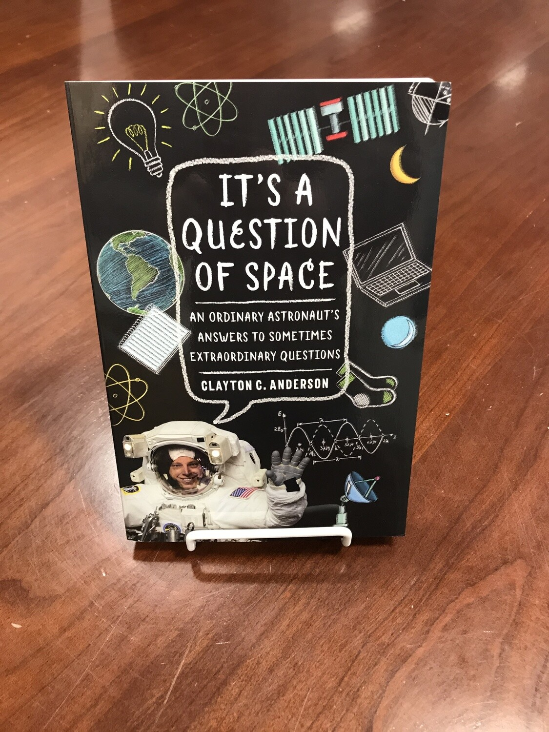 IT'S A QUESTION OF SPACE BOOK
