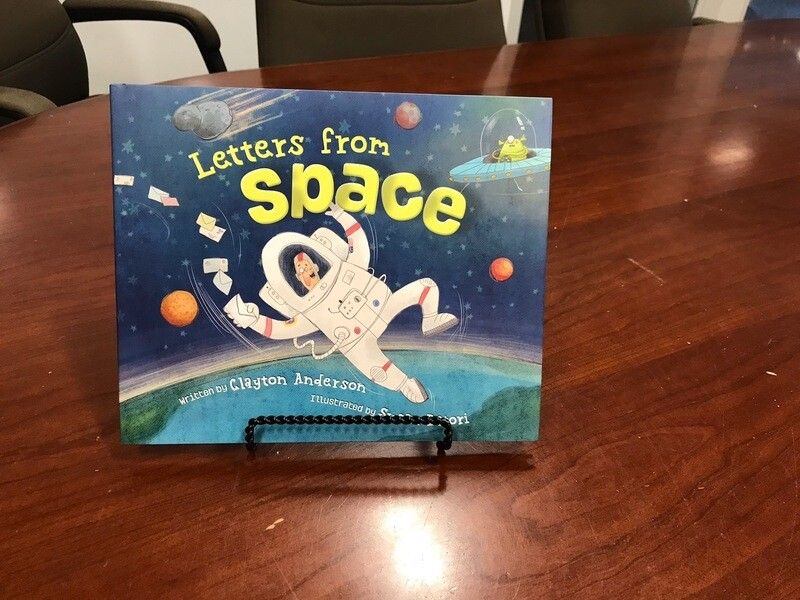 LETTERS FROM SPACE-CLAYTON ANDERSON BOOK