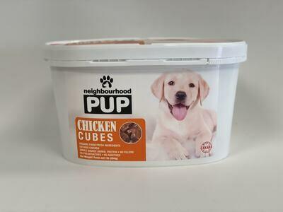 Chicken Cubes Tub- Raw