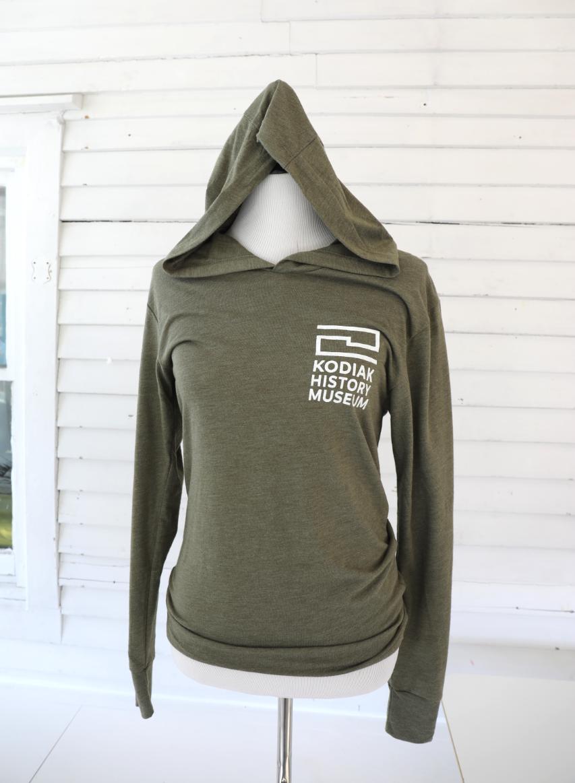 Long Sleeve Hooded KHM T-Shirt