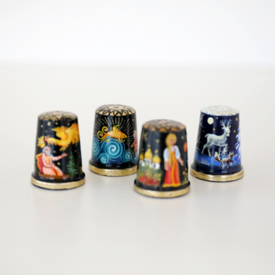Russian Fairy-Tale Thimbles