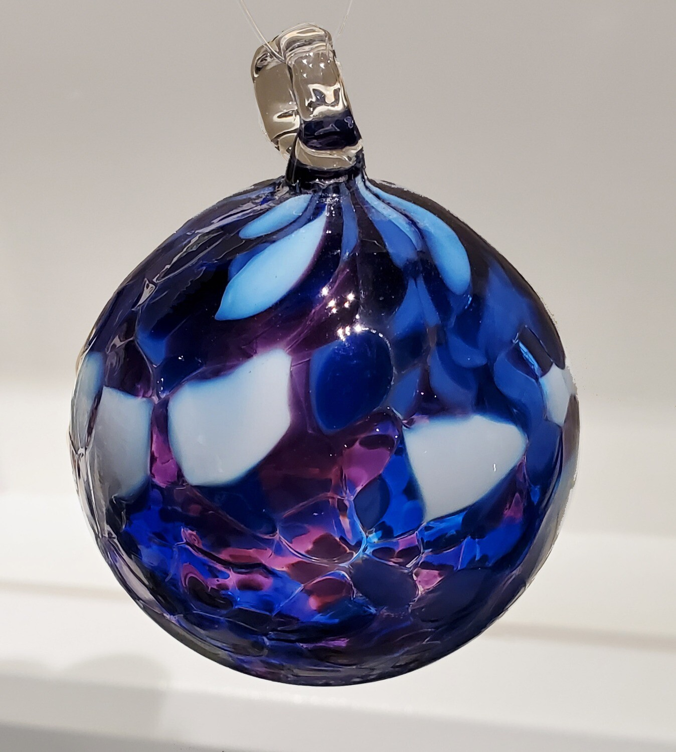 Blown Glass Holiday Ornaments