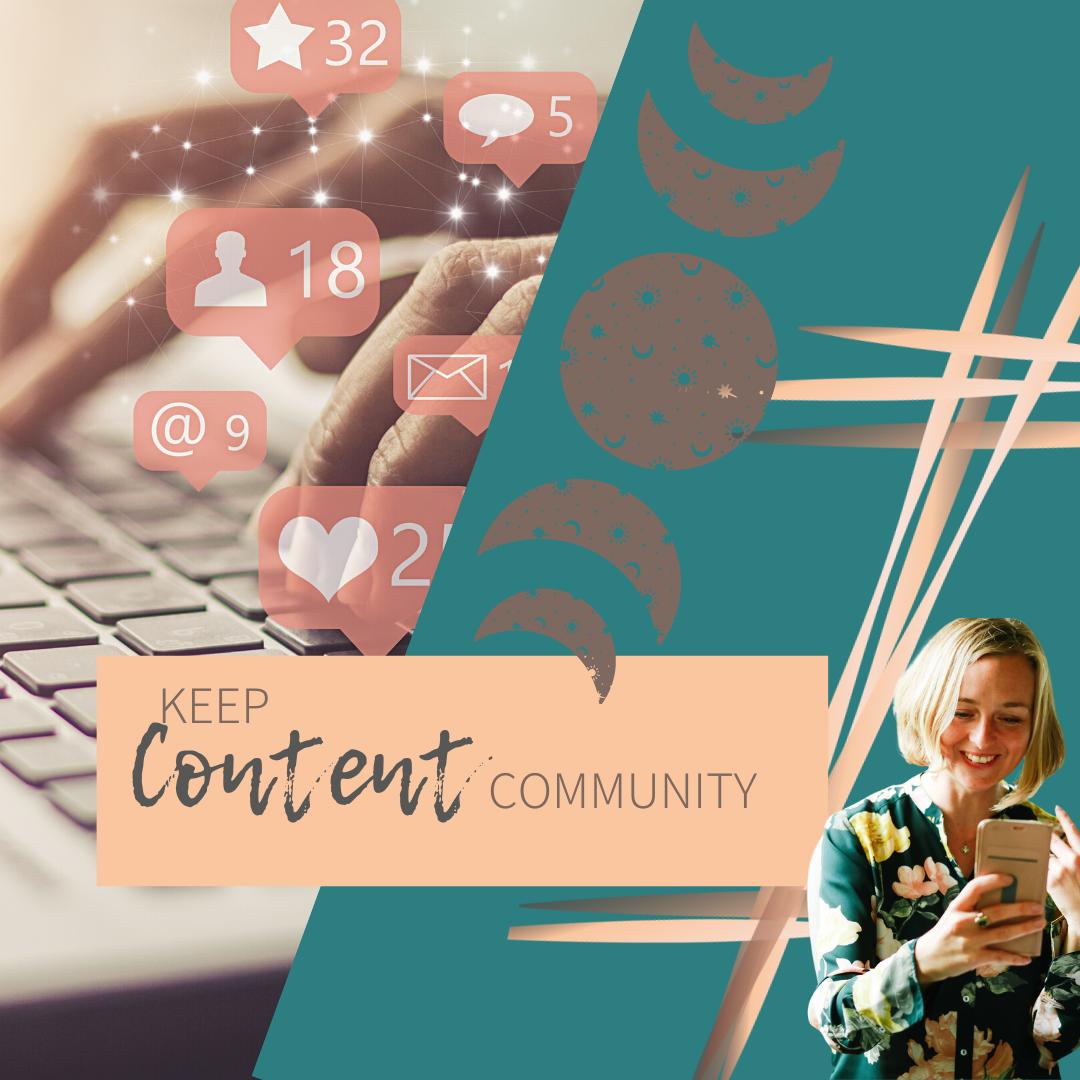 Keep Content Community - 4 Monate zum Preis von 3 - Gründungsmitglied in CHF
