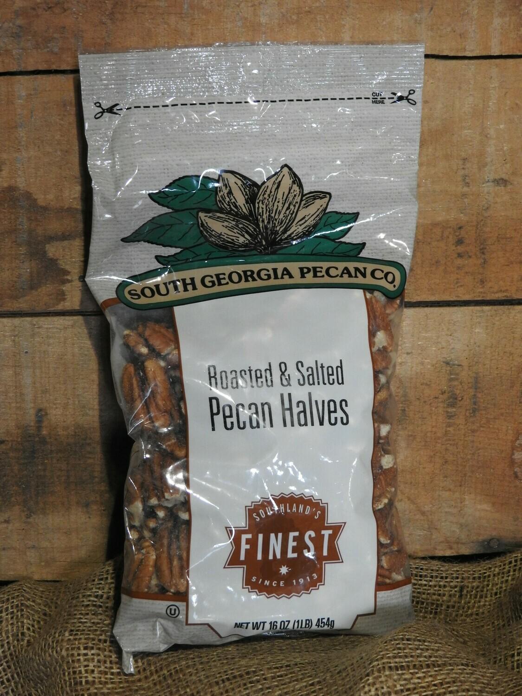 Roasted & Salted Pecans Halves