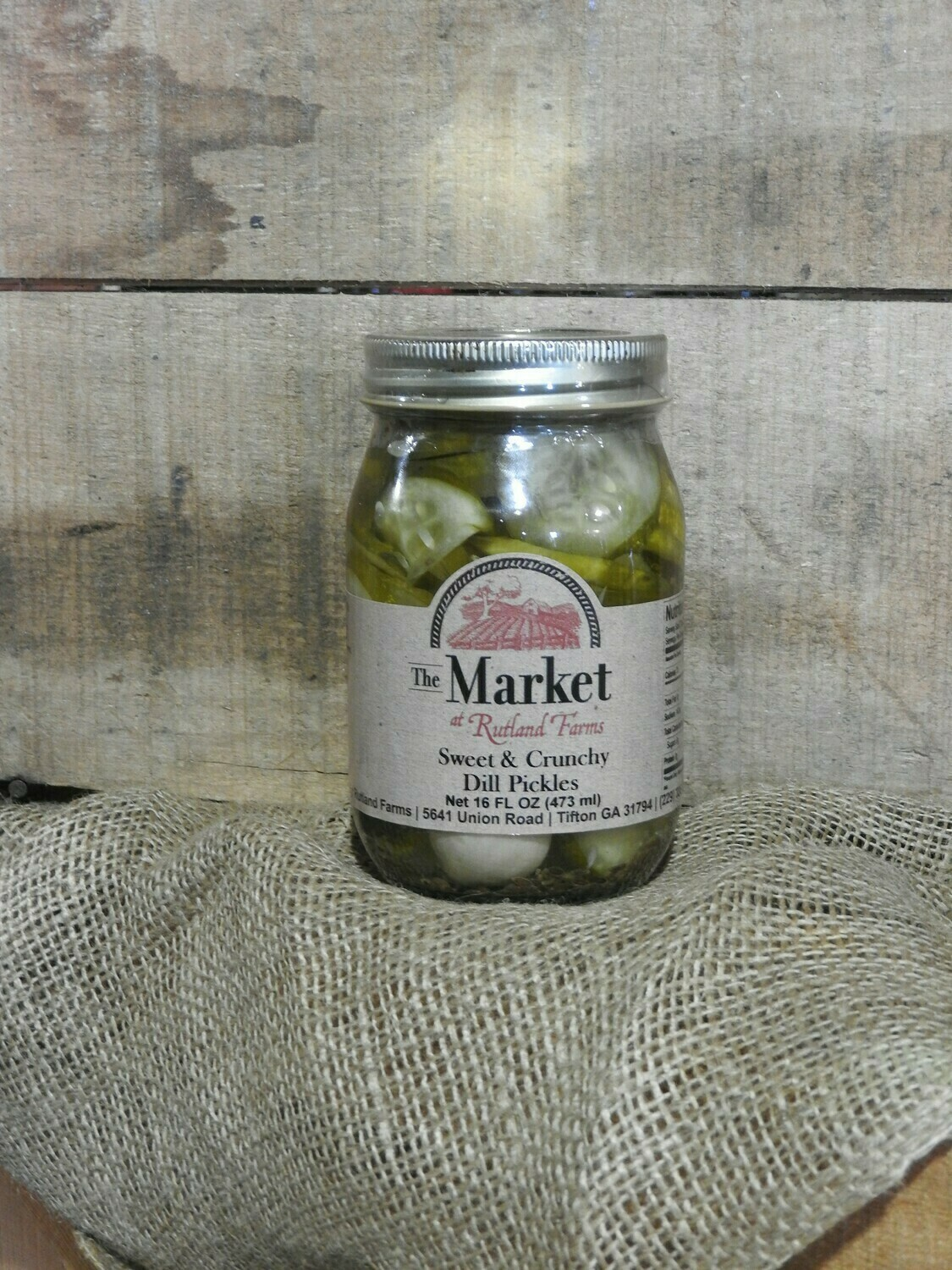 Sweet & Crunchy Dill Pickles