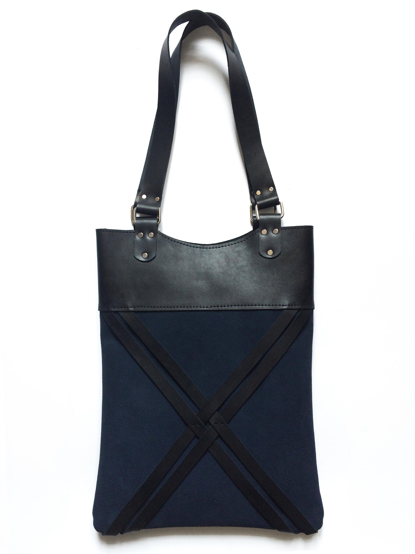 Shopper Albastru 00084