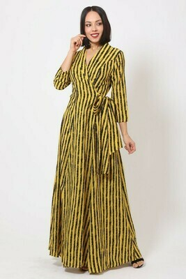 Val Wrap Dress
