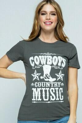 Cowboy Graphic Tshirt.
